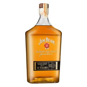 [ Bestpreis ] Jim Beam Signature Craft 12 Jahre Whiskey, 43% 0,7L   [lokal] - Selgros Neuwied