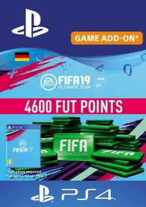 Fifa 19 - 4600 FIFA Points PS4 (Germany) für 33,99€ bei CDKeys.com