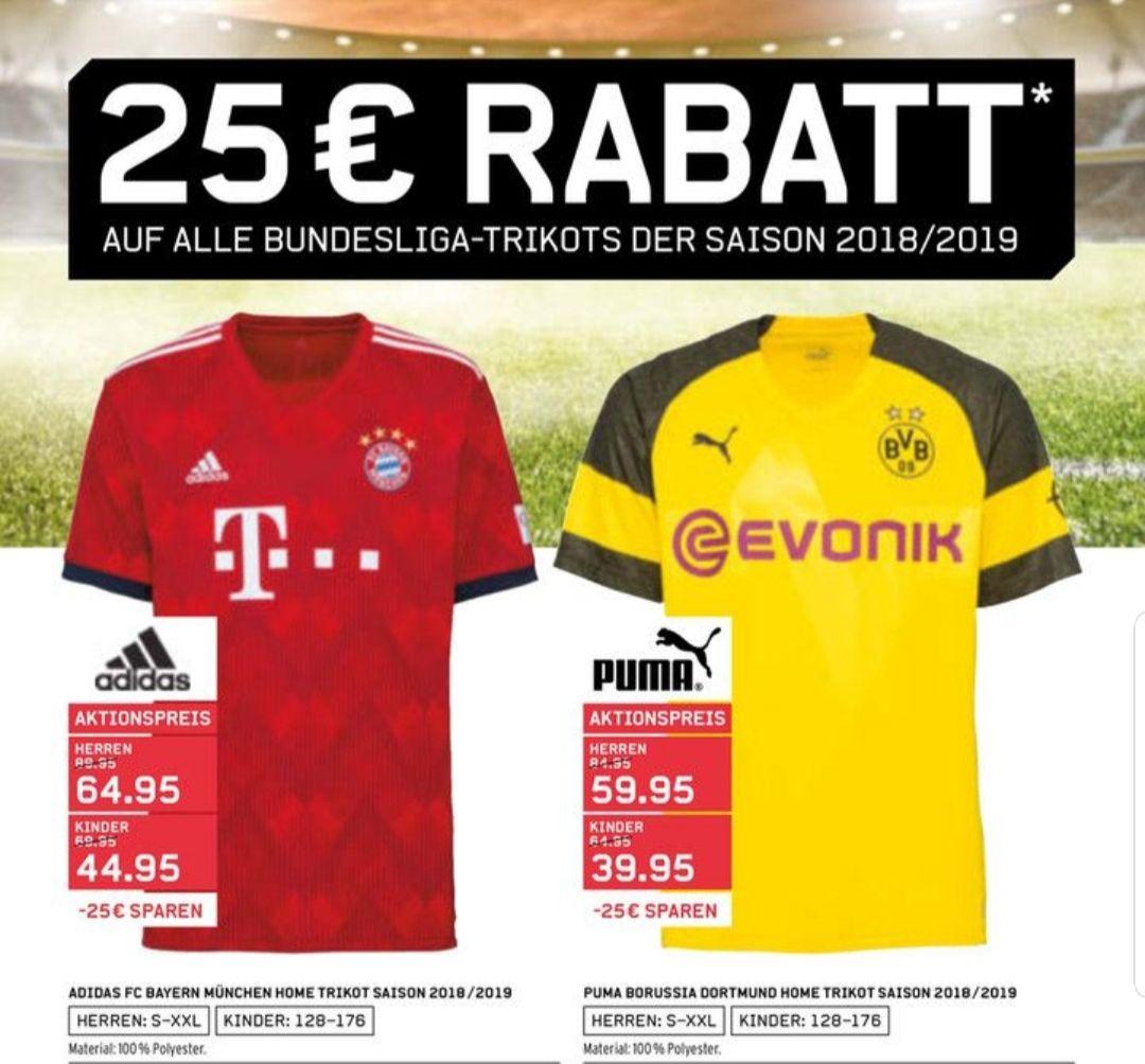 Karstadt Sport Bundesliga Trikot 25€ Rabatt