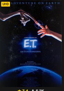 [Rakuten.tv] E.T. in UHD / 4K Qualität - Stream - Kaufversion