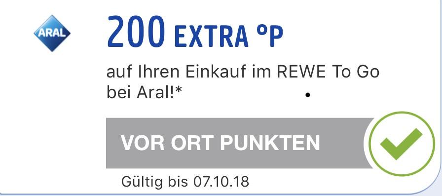 (Aral Bistro; personalisiert) Cappuccino für 1€ + 200 Payback Punkte (2€)