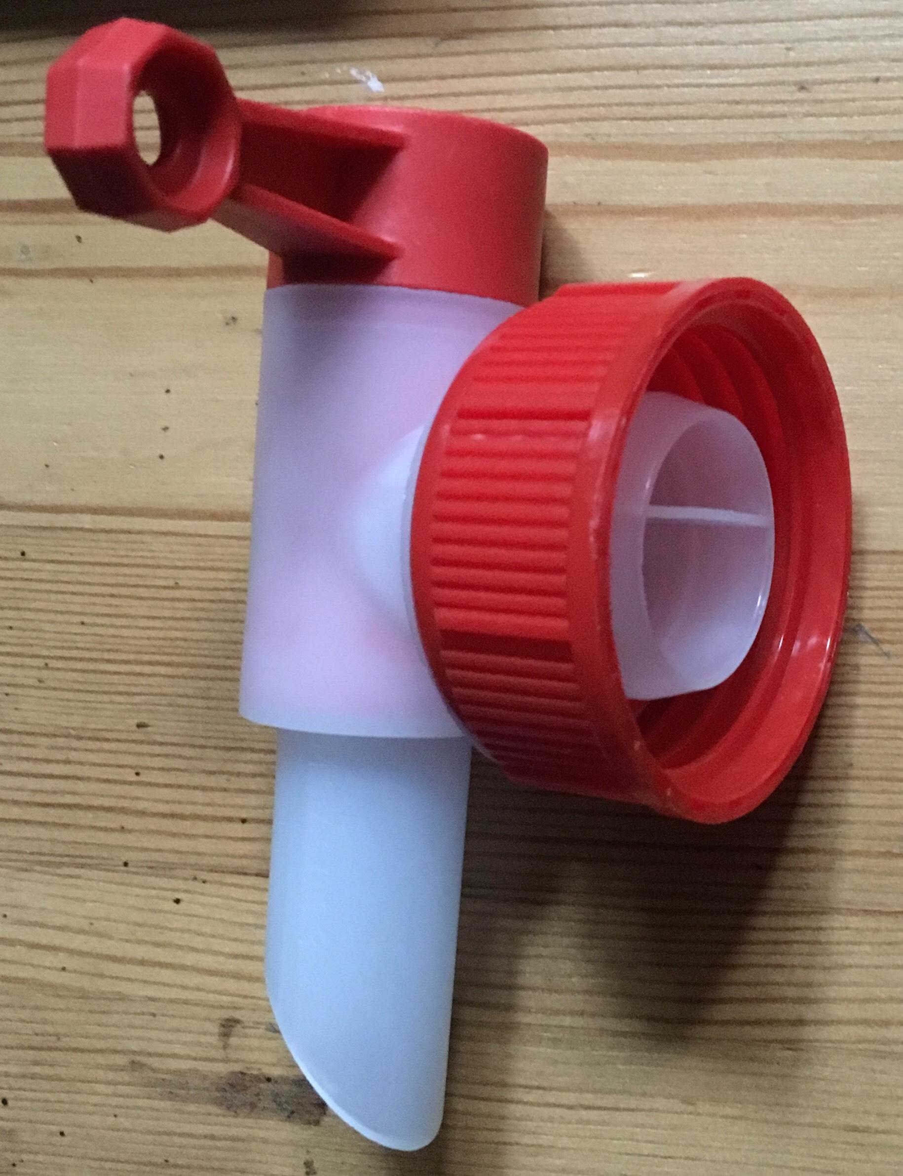 Kunststoff Zapfhahn / Auslaufhahn für 3 Liter, 5 Liter und 10 Liter Kanister