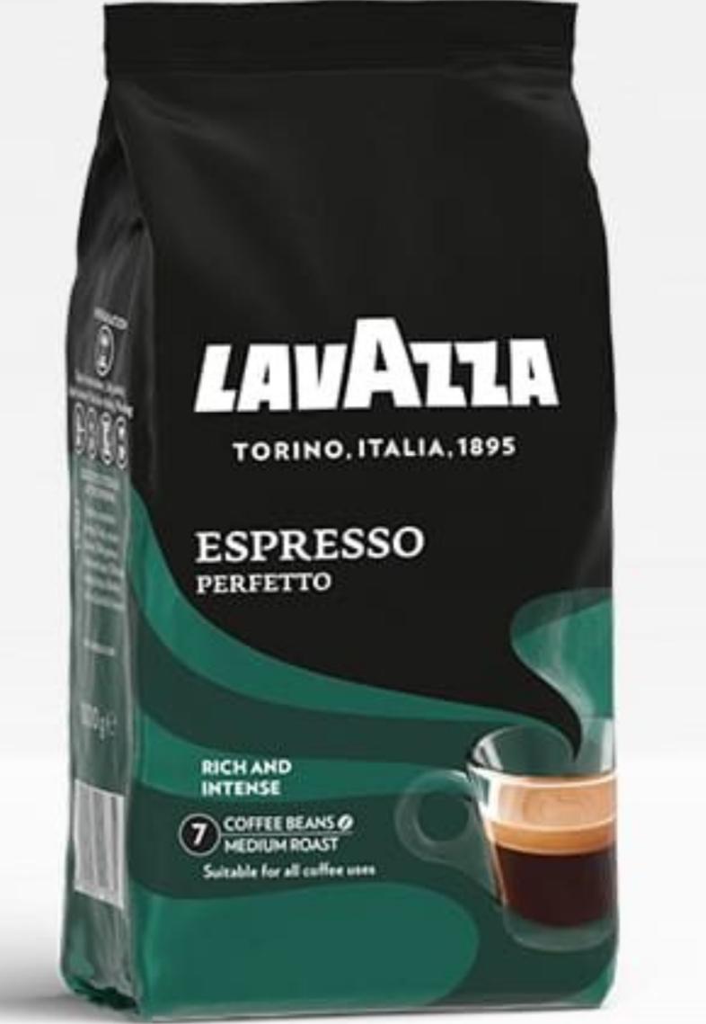 3 x Lavazza Perfetto Espressobohnen (Lavazzas hochwertigste Röstung)