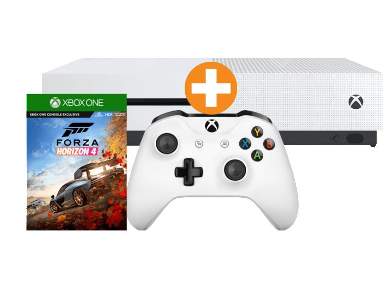 (Saturn.at) Xbox One S 1TB Forza Horizon 4 Bundle + FIFA 19 + STEEP + THE CREW + FORZA HORIZON 2 + RARE REPLAY