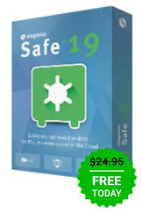 Steganos Safe 19 als Giveaway of the day