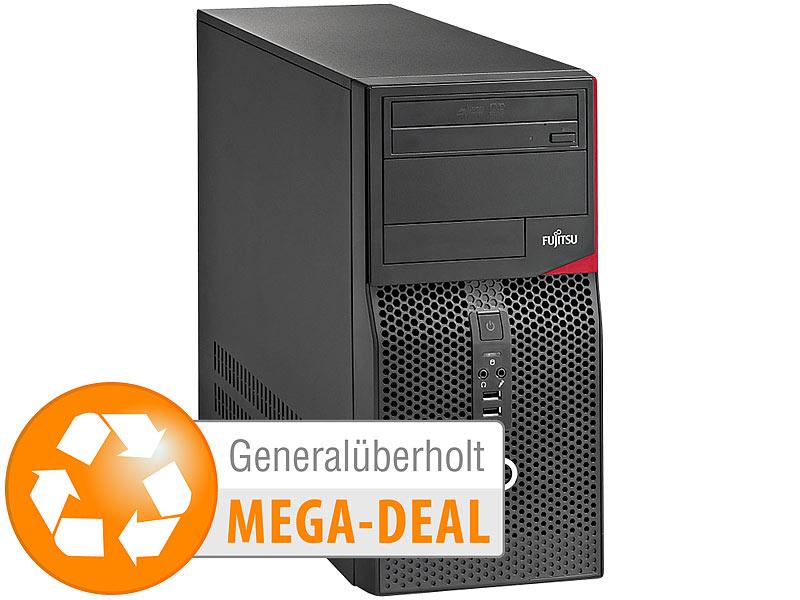 [Pearl.de] Fujitsu  Esprimo P410 E85+, Pentium G2030, 8 GB, 500 GB inkl. Windows 10