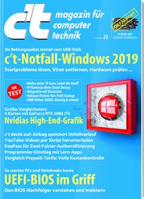 c't Probeabo 5 Ausgaben (Print oder digital) + c't Sonderheft Windows Problemlöser (i.W.v. 12,90€) + 15€ Bestchoice Entertainment Gutschein
