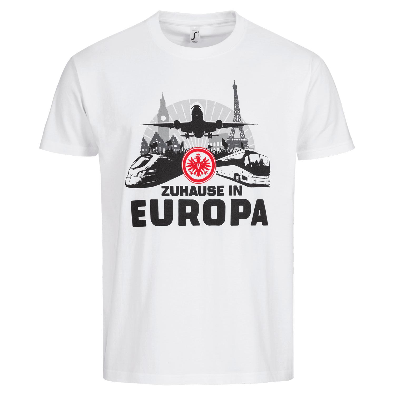 Eintracht Frankfurt Matchday Angebot T-Shirt ''Zuhause in Europa'' & Tasse ''Die Rückkehr des Pokals'' für 19,90€ inkl. Versand #SGELazio