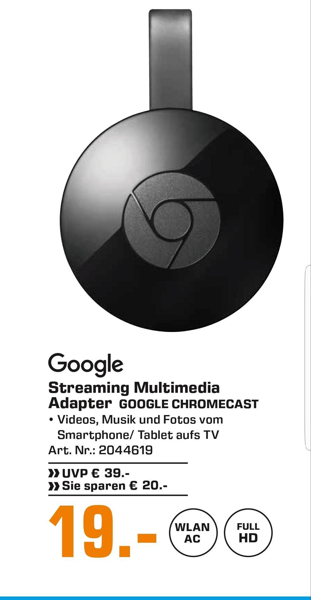 [Saturn Hamburg] Google Chromecast 2