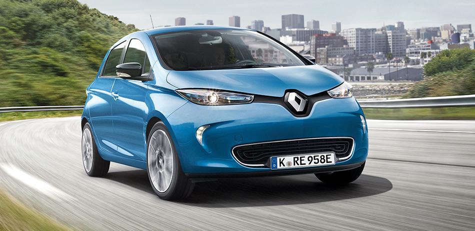 Renault Zoe Limited Z.E. für 88€ netto (Gewerbetreibende) inkl. Batteriemiete für die neue 41 kWh Batterie // 24 Monate, 7.000km im Jahr