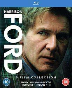 Harrison Ford 5 Filme Blu-ray Box komplett auf deutsch für 10,38€
