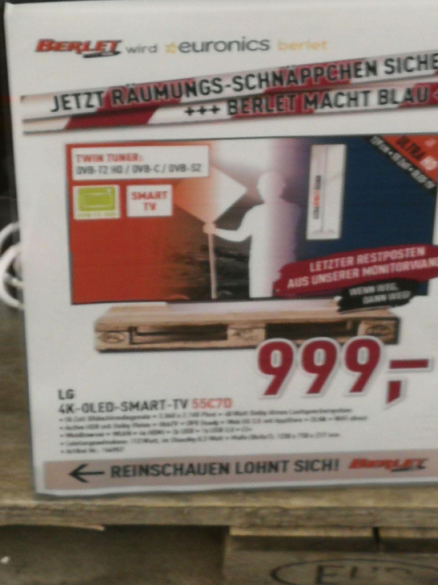 LG 4K-OLED 55 Zoll 55C7D Vorführgeräte Lokal Unna nähe Dortmund (Vorführgerät)