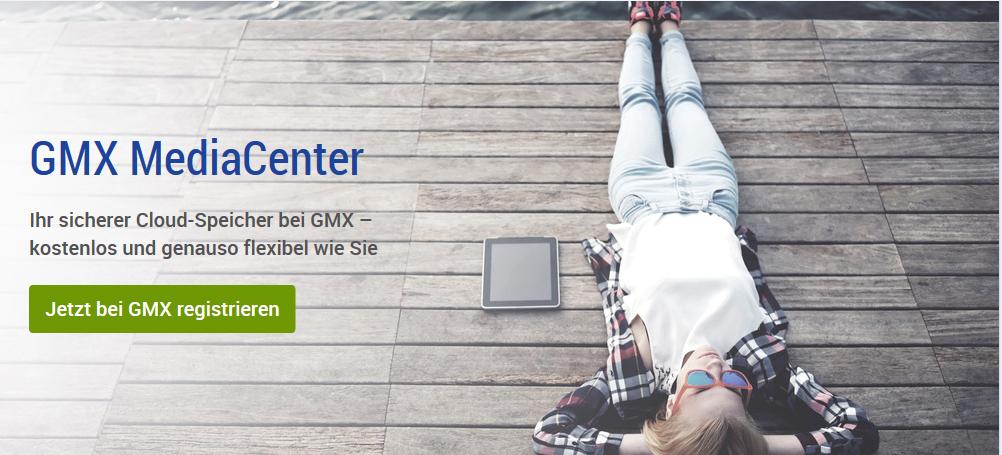 GMX mit PCgo:  1 TB Cloud-Speicher für 1 € im ersten Jahr