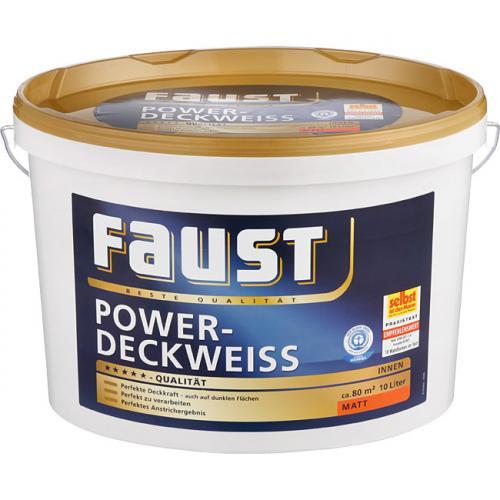 Faust Power-Deckweiss 10l für 26,99€ @Praktiker [offline]
