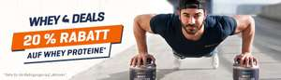 [Body&Fit] 20% auf Whey Proteine und auf Vitamine