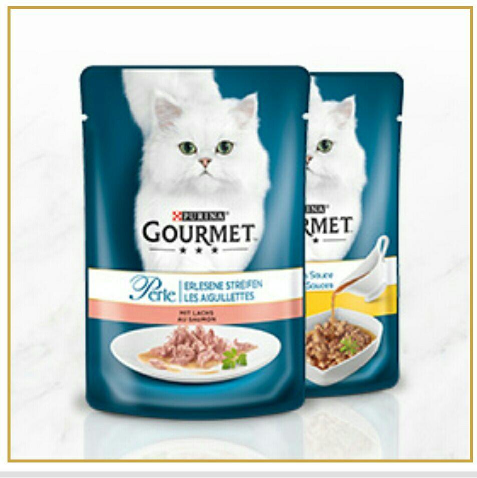 Gourmet Katzen Futter Gratis