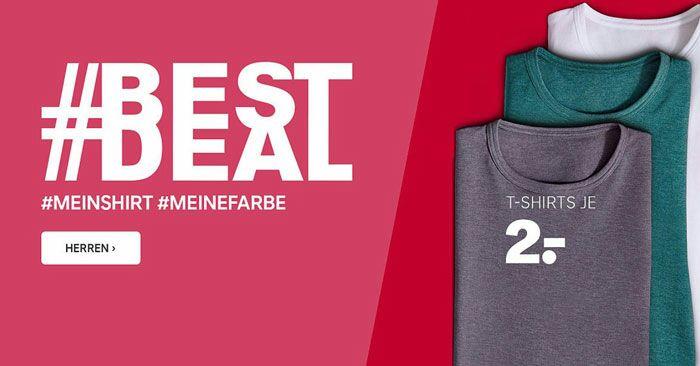 [offline] T-Shirts bei C&A für 1,20€ statt 2€ (Normalpreis 5€)