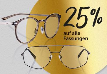 Optiker Bode: 25% auf das gesamte Sortiment (Brillen und Kontaktlinsen)