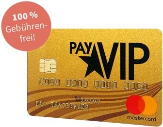 PayVIP Mastercard Gold Inkl. 40€ Amazon Gutschein (Nur für Neukunden der Advanzia Bank)