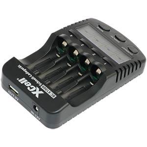 LOKAL MÜNSTER - Omega Ladegerät BC-X1000, prozessorgesteuert, NiCd, NiMh, Einzelschachtüberwachung