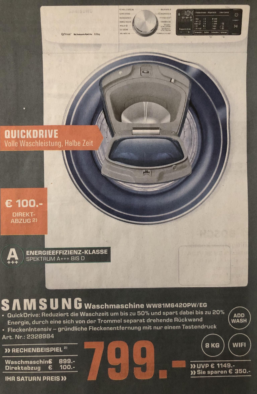 [SATURN] Samsung Waschmaschine WW81M6420PW/EG