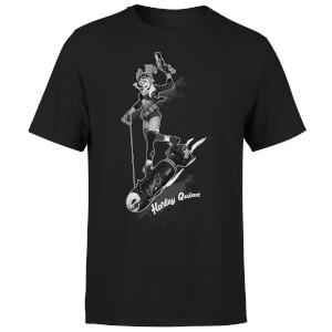Harley Quinn Gotham T-Shirt offiziell lizenziert (Größen S-5XL, 100% Baumwolle)