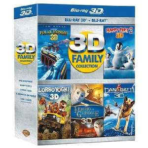 3D Family Collection (5 x 2D Blu-rays + 5 x 3D Blu-rays) für 53,46 € inkl. VSK @Amazon.it