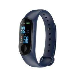 M3 Plus Bluetooth Smart Bracelet with Blood Pressure Heart Rate Monitor