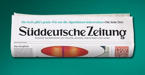 50 Printausgaben der Süddeutschen für 50 € mit 2500 PAYBACKPunkten