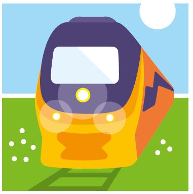 Tagesbahnfahrkarte für die Niederlande gültig bis 09.12.