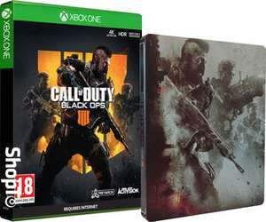 Call of Duty Black Ops 4 mit Steelbook Case (PS4/Xbox One)