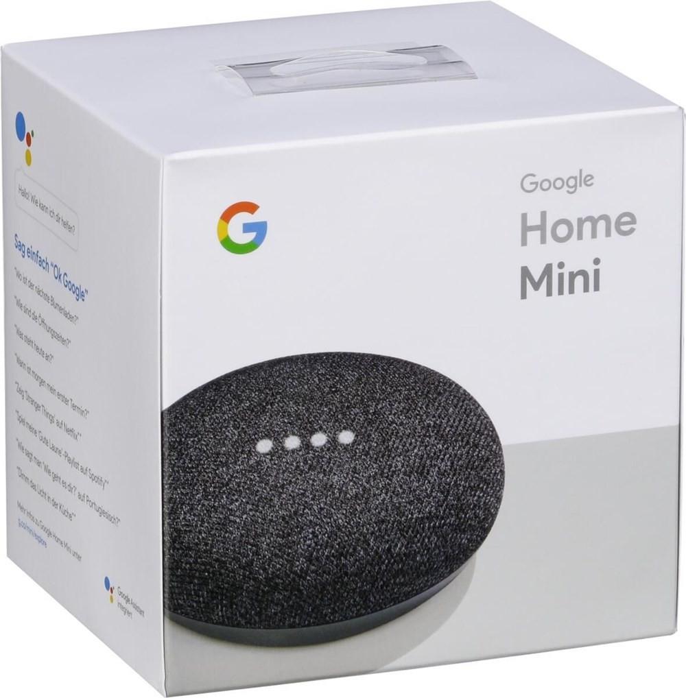 Google Home Mini Smart Speaker mit Sprachsteuerung (Karbon) für 25€ versandkostenfrei (Media Markt)