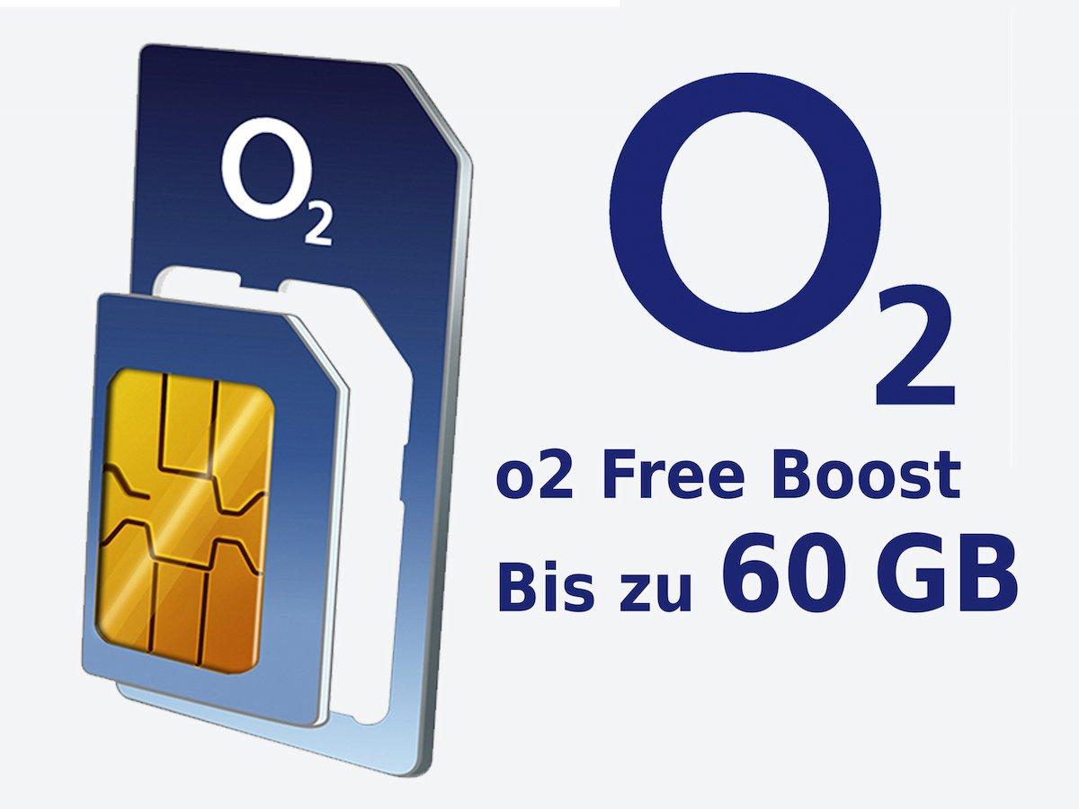 o2 Free Business L Boost mit 60GB LTE und 4 Multicards (16,99 € netto bzw. 23,29 € brutto pro Monat)