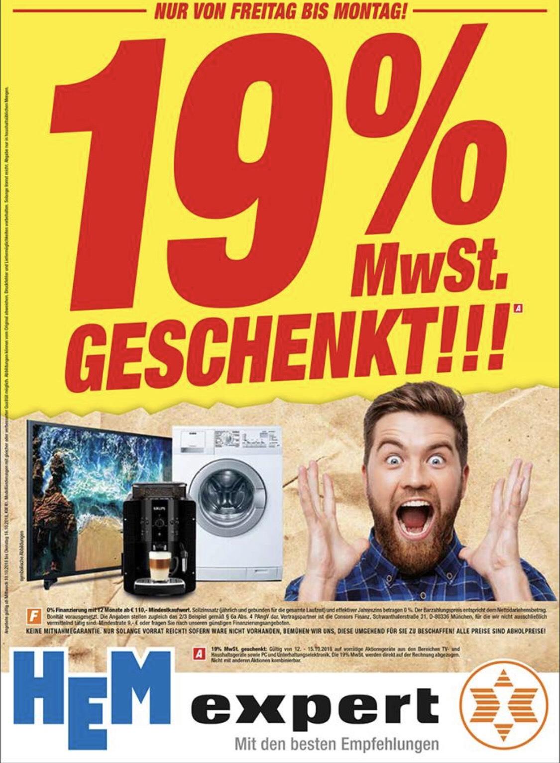 Expert schenkt euch 19% MwSt.! [teilw. Lokal]
