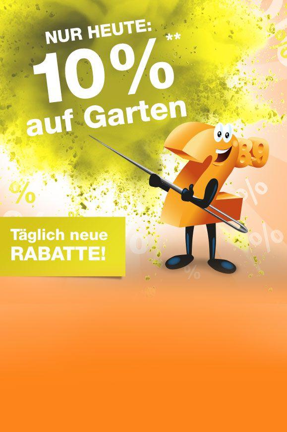 10% auf alle Garten-Artikel bei Plus