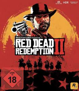 Red Dead Redemption 2 für Xbox One 49,99€ & PS4 51,99€ per Check24 App