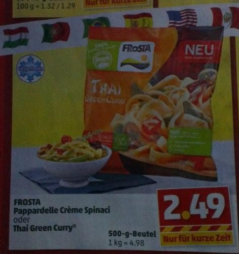 Frosta für 2,49 € ab Montag bei Penny (bundesweit!)