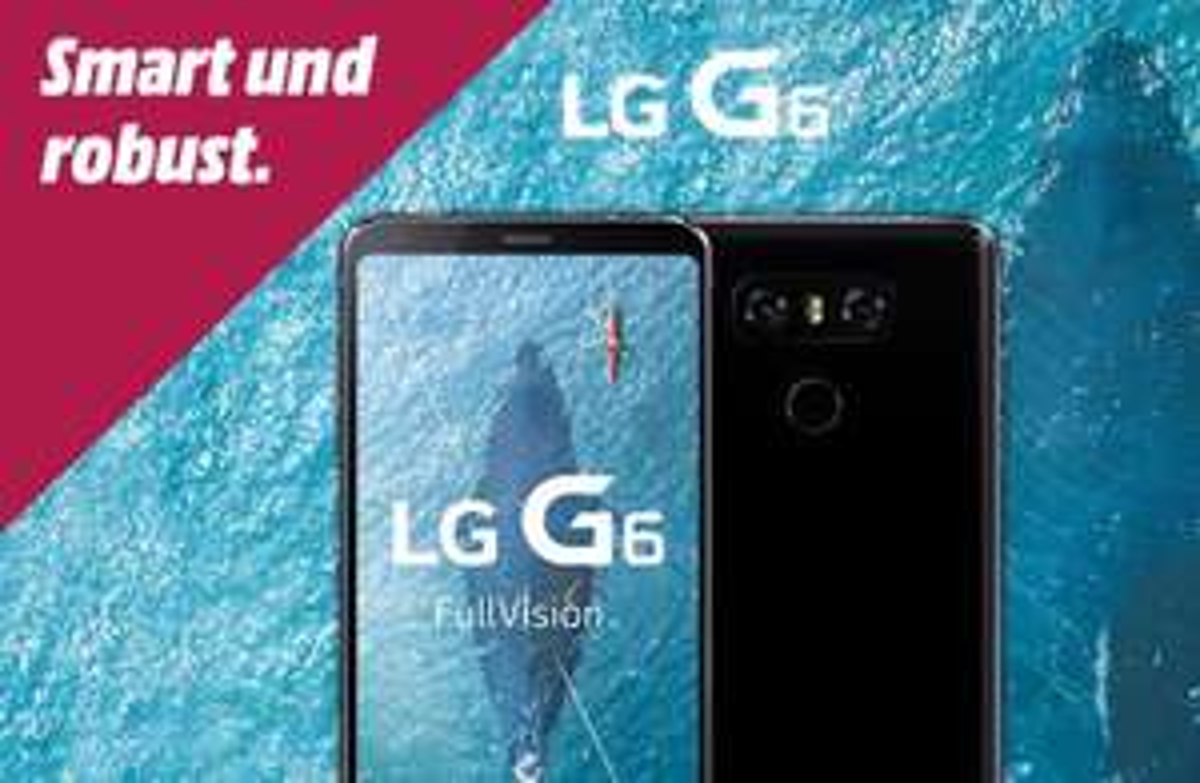 LG G6 32GB Schwarz für 286€