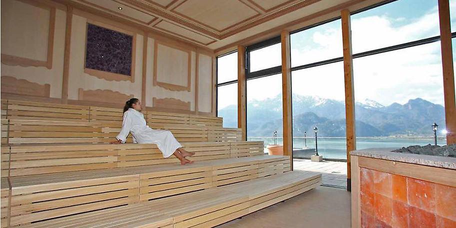 Kristall Therme Kochel am See - Tageskarte für die Sauna - 50 %