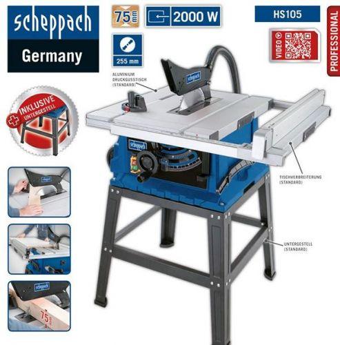 Scheppach HS105 Tischkreissäge