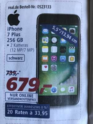 IPhone 7 Plus 256 Gb Schwarz 679€ NEU