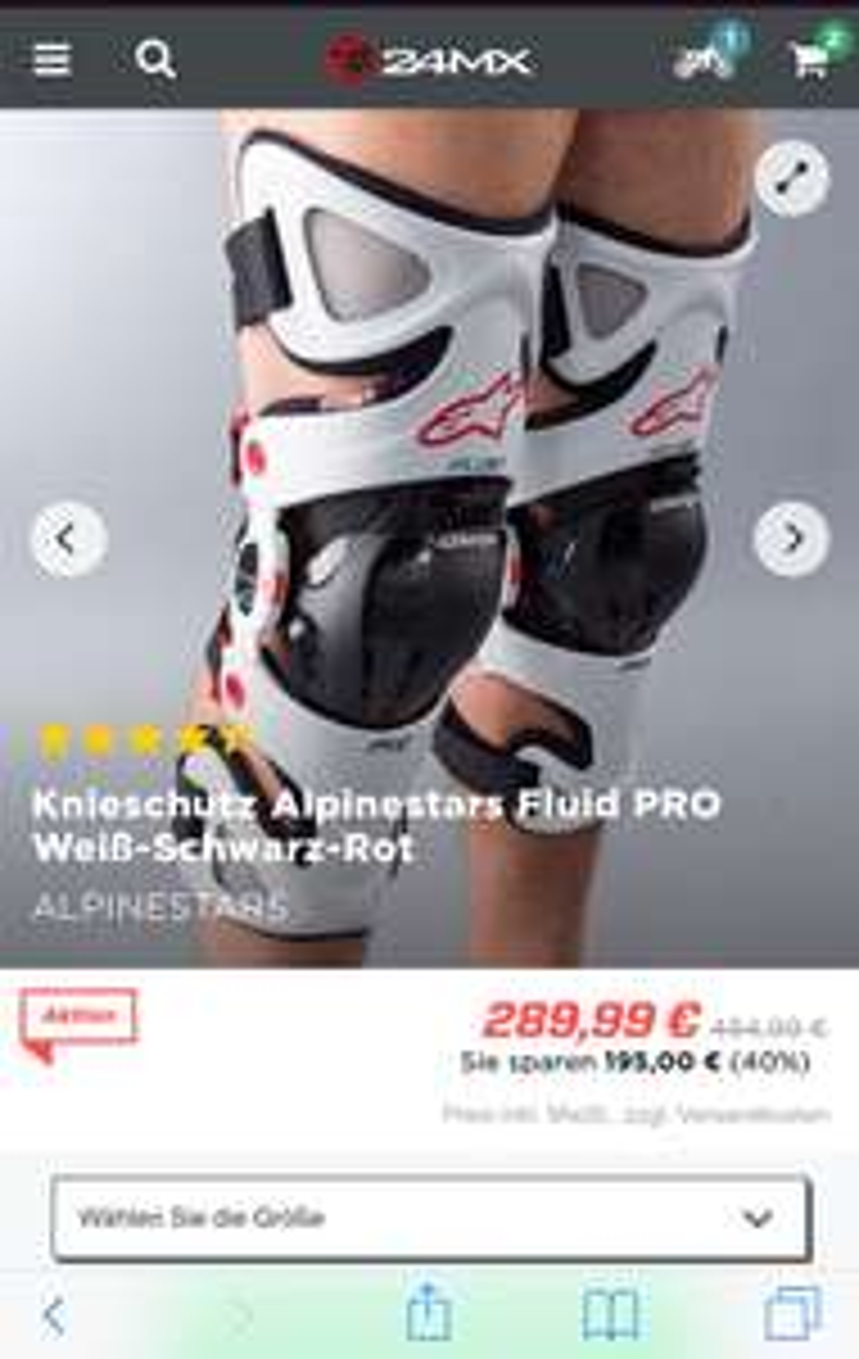 Alpinestars Fluid Pro heute im Angebot bei 24MX