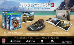 Just Cause 3 Collector's Edition (Xbox One) für 26,95€ (Coolshop)