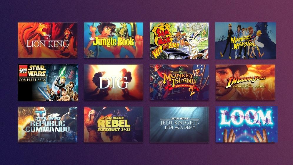 [GOG] Disney Week Sale mit Indiana Jones, Star Wars, Monkey Island, Lego und Lucas Arts Games und vielen mehr