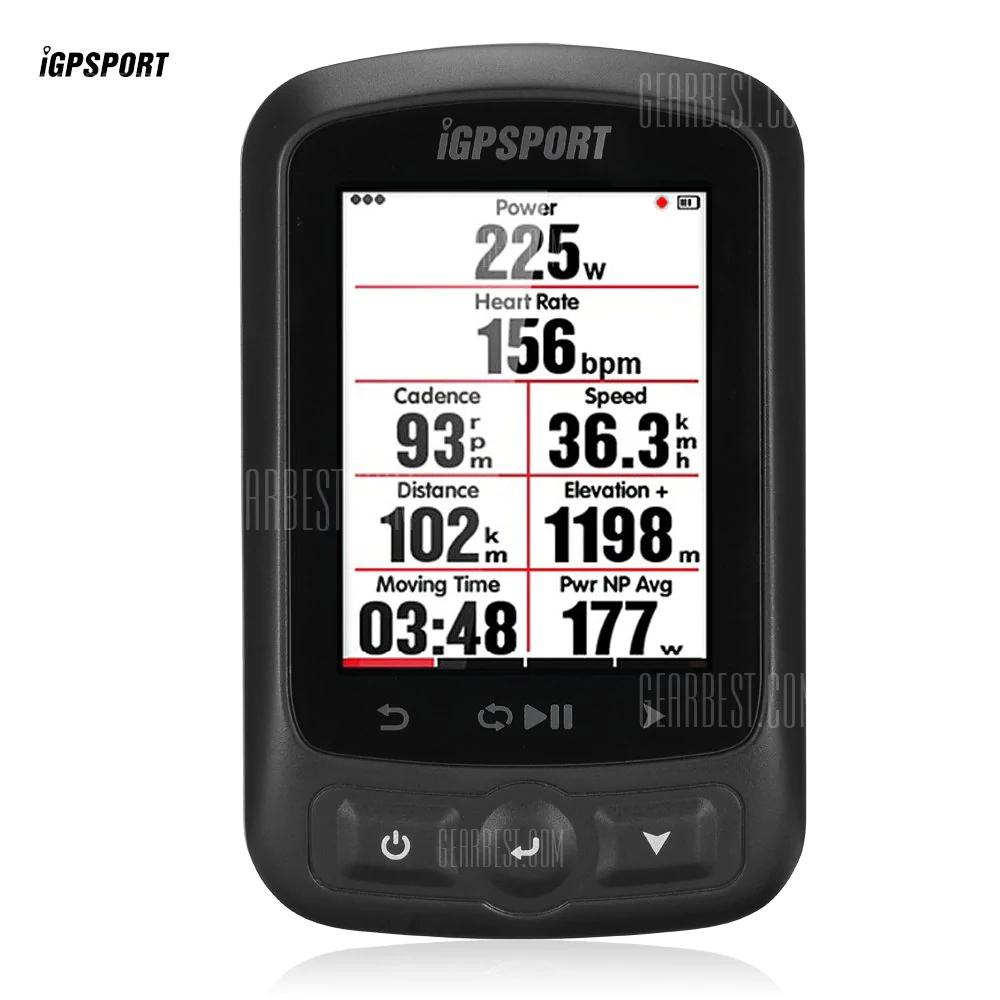 iGPSPORT iGS618 Bluetooth Wireless GPS Fahrradcomputer
