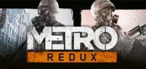[Indiegala] Metro Redux Bundle (Metro 2033 Redux & Metro: Last Light Redux) via Steam Key