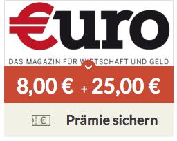 4 x Euro Magazin lesen + 8€ Prämie durch spartanien