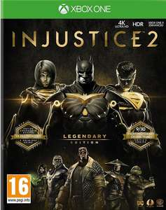 Injustice 2 Legendary Edition (Xbox One & PS4) für je 33,85€ (NETGAMES)