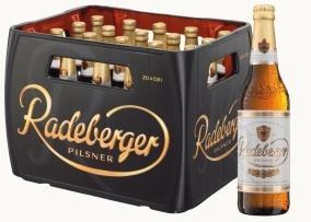 1 Kasten Radeberger Pilsner (Bier) kaufen + 6er Pack clausthaler Radler gratis im kaufland