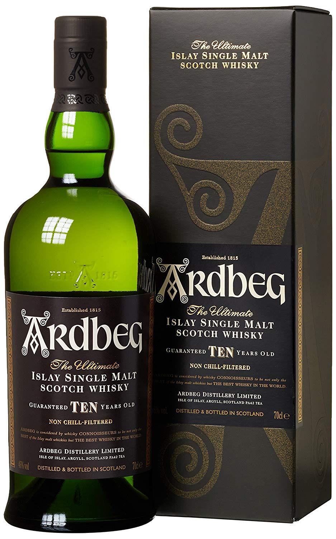 Ardbeg Ten Islay Whisky (3x 0,7l) für 79,99€ inkl. Versand! - 26,67€ Pro Flasche!